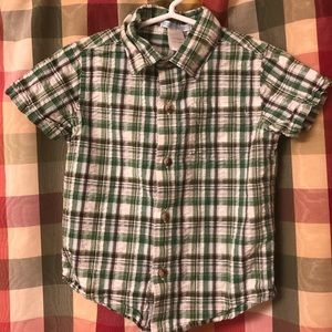 18-24 month Janie and Jack short sleeve shirt
